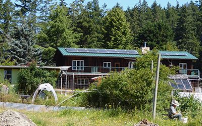 Solar Panel Project on the Gabriola Commons